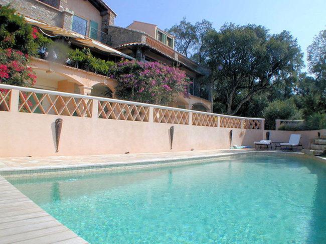 Location Villa Avec Piscine Dans Le Lavandou