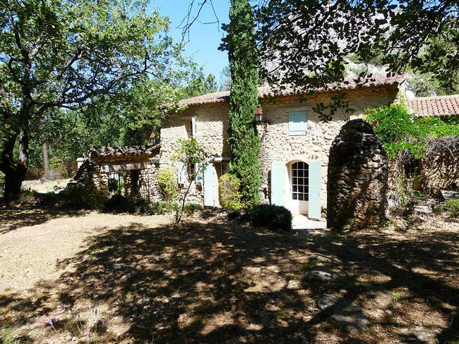Location maison exception pr s d 39 apt luberon piscine - Location maison avec piscine luberon ...