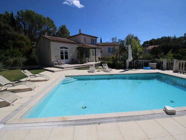 le clos de la garrigue - Location Maison Vacances Piscine Prive