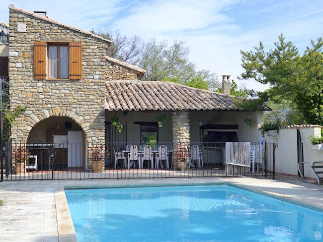 Location maison avec piscine priv e animaux admis vaison - Hotels vaison la romaine avec piscine ...