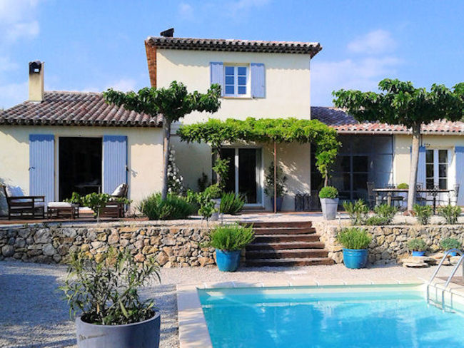 Location Maison Vacances  Tourtour Var Piscine Prive Et Pool House