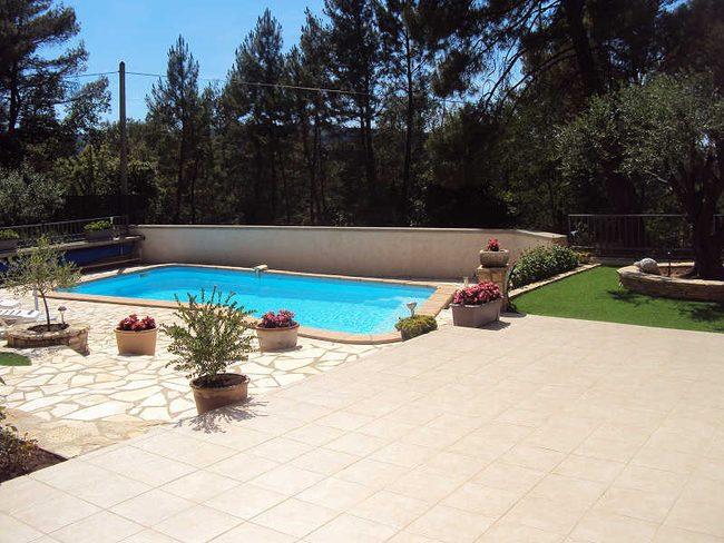 pvs maison de vacances avec piscine priv e bagnols sur